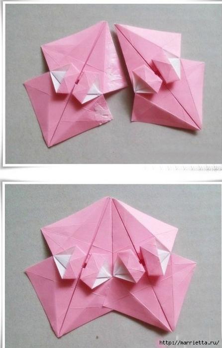 Японский мастер класс оригамие сделай сам #2