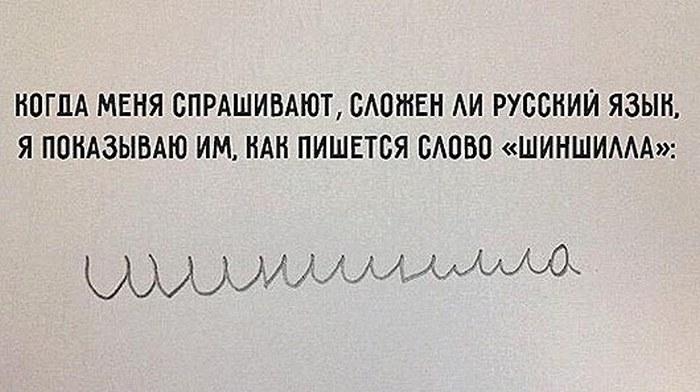 Забавные факты о русском языке