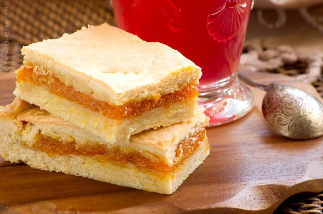 фото курагой пирог с рецепт