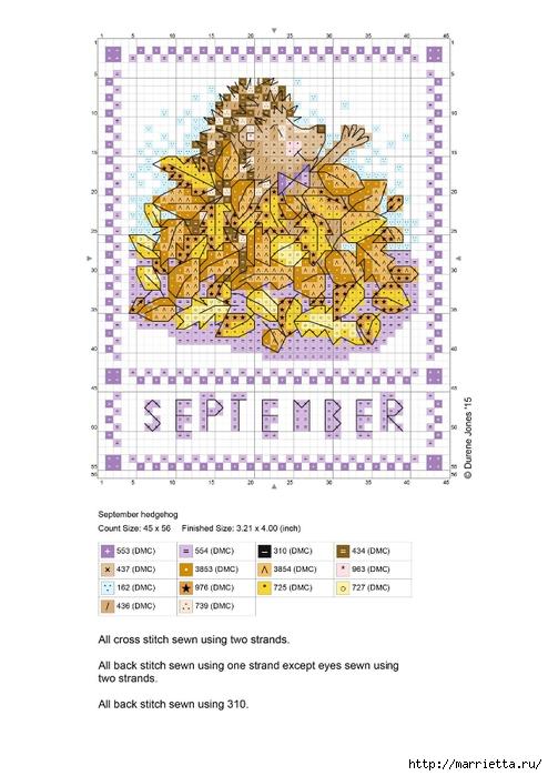 Детский календарь. Схемы вышивки крестом (3) (494x700, 209Kb)