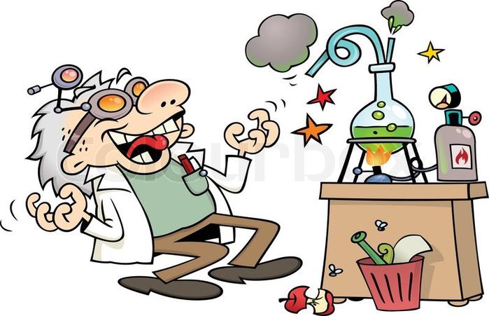 Рисунки сумасшедшего ученого