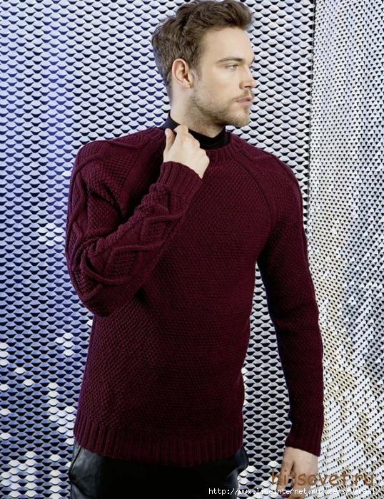 muzhskoj_pulover (538x700, 414Kb)