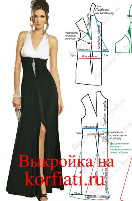 Dress-pattern-480x730 (460x700, 246Kb)