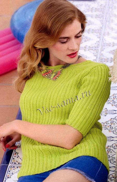 Iziashchnyi-pulover-ris (451x700, 395Kb)