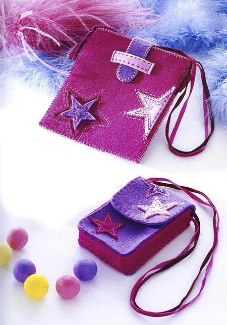 Как сделать сумочку для телефона