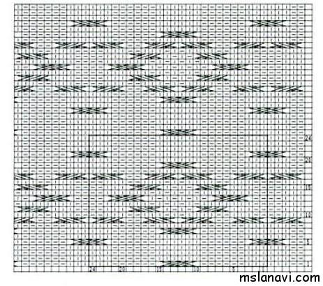 Узор 4 схема (463x410, 172Kb)