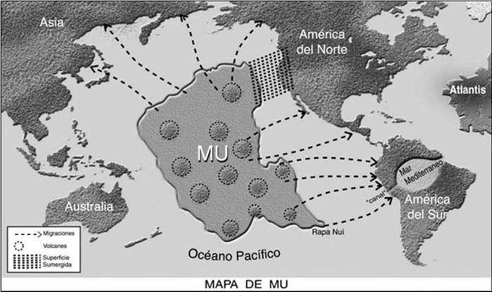 Легендарные исчезнувшие континенты, существовавшие на планете в древние времена
