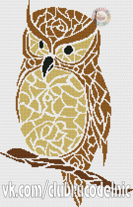 Tribal Owl (451x700, 471Kb)