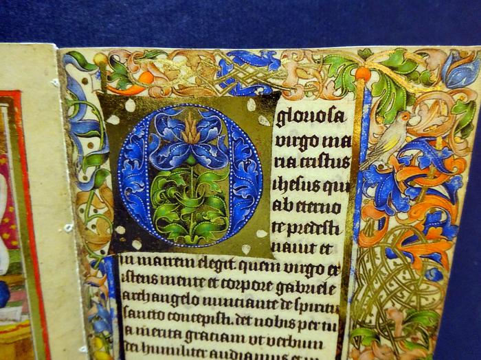 """рукописная книга 1480-1490 годов - пример """"Кёльнской школы живописи"""""""