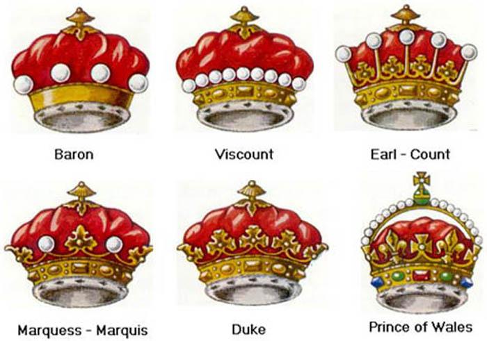 Свидетельства титулы при королевском дворе это современный листовой