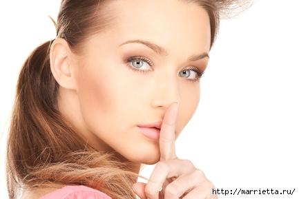 10 женских тайн красоты. О чем никому нельзя рассказывать (3) (433x289, 67Kb)