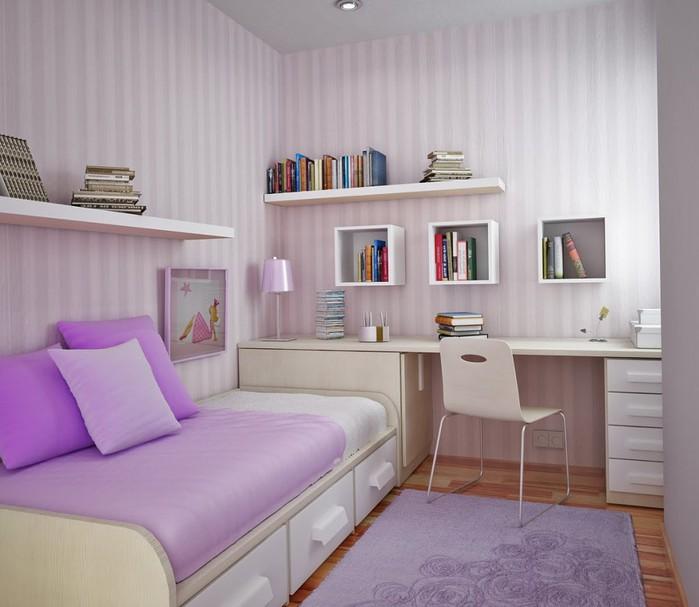 Дизайн спальни на 13
