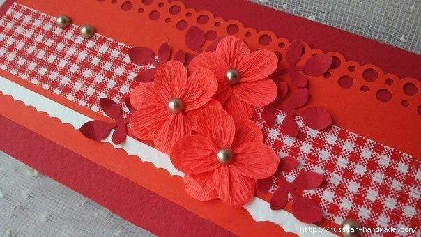 Бумажные цветочки своими руками для скрапбукинга (4) (604x340, 157Kb)