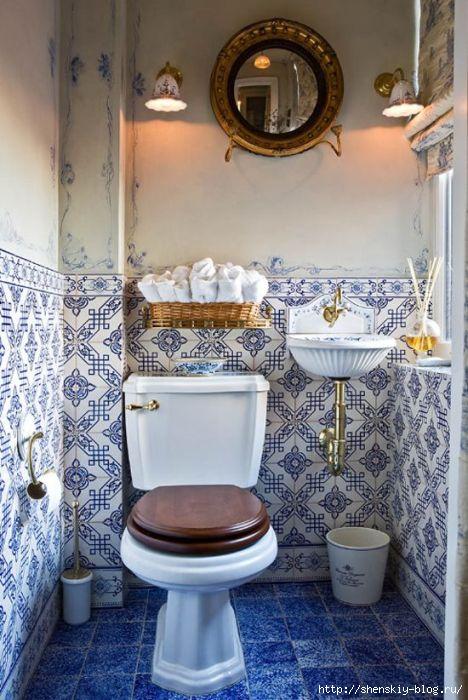 Дизайн туалета своими руками 47