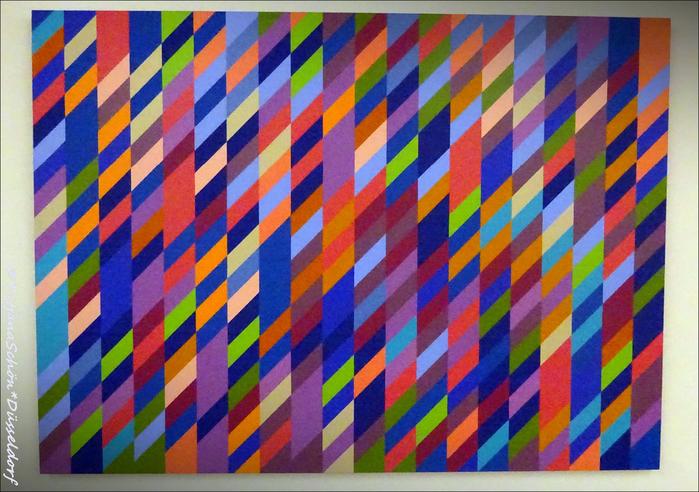 Зиген, музей современного искусства. Бриджет Райли.
