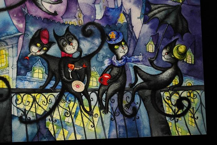 alt=Сказка синего кота ~  Иллюстратор Михайлошина Марина/2835299_artlib_gallery266434b_jpg (700x468, 171Kb)