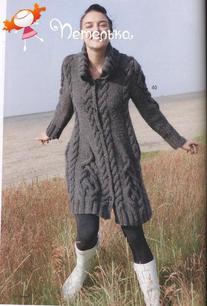 Пальто туника