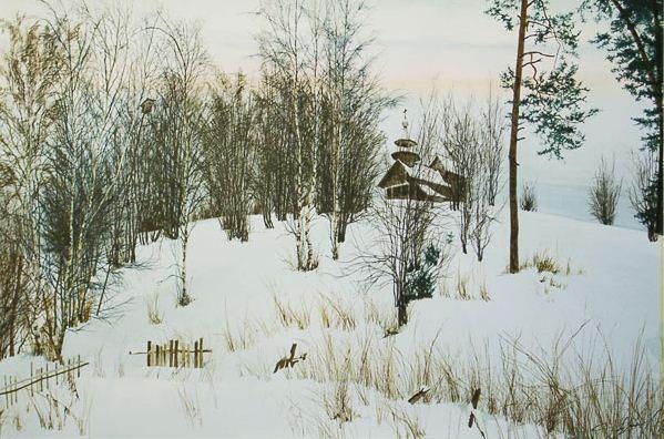 Konstantin-Romanov_-Peyzazh-v-akvareli_-CHasovnya (599x396, 233Kb)