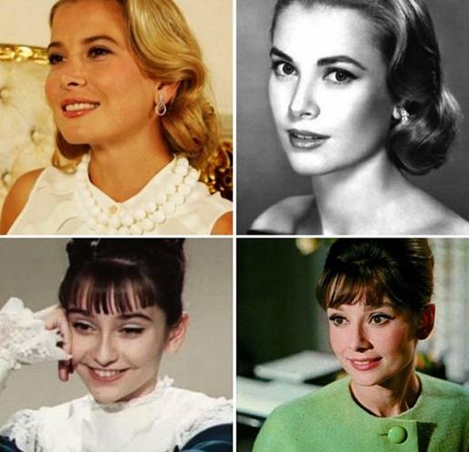 Очень похожие русские и иностранные актрисы
