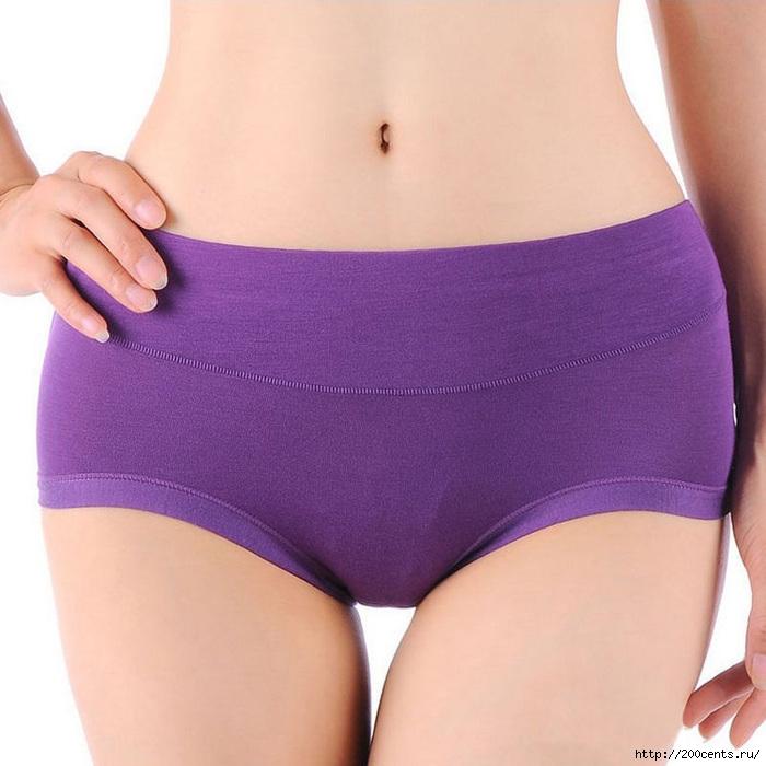 Hot Sale 2015 Natural Waist Bamboo Fiber Antibacterial Women Underwear Perfect Butt Panties Solid Brand Same Sexy Panties/5863438_HotSale2015NaturalWaistBambooFiberAntibacterialWomenUnderwearPerfectButtPantiesSolidBrandSame4 (700x700, 216Kb)