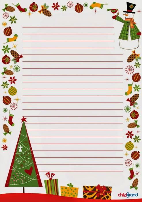 Шаблоны для писем Деду Морозу! - katrysya_24