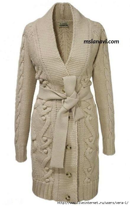 вязание-кардигана-спицами-для-женщин (440x698, 133Kb)