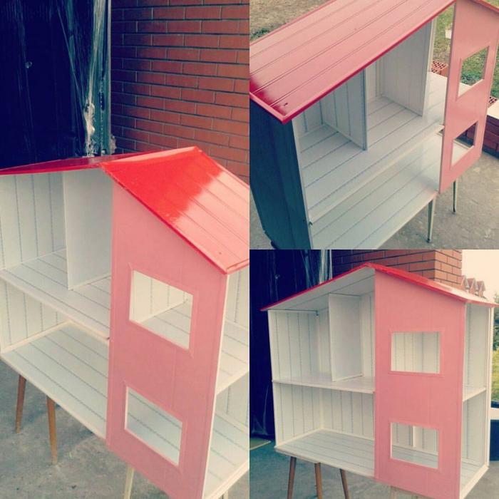 Кукольный домик из панелей