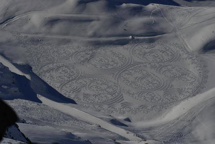 Саймон Бек рисунки на снегу 17 (700x467, 276Kb)