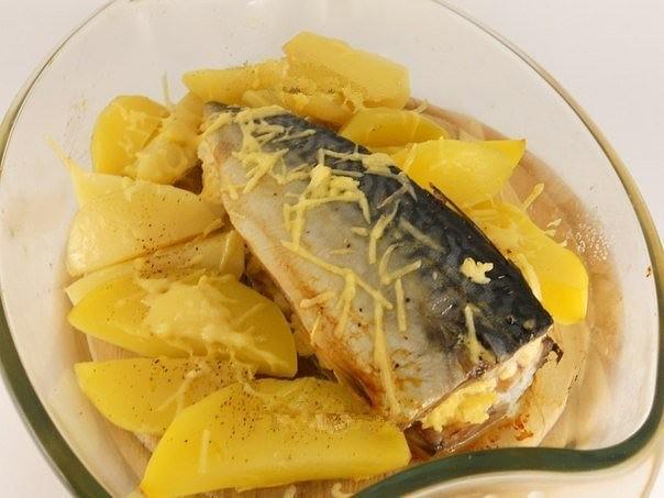 скумбрия с сыром (604x453, 54Kb)