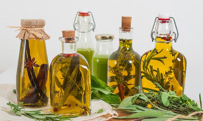 Травяное масло своими рука