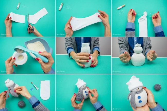 Новогодние игрушки в картинках своими руками