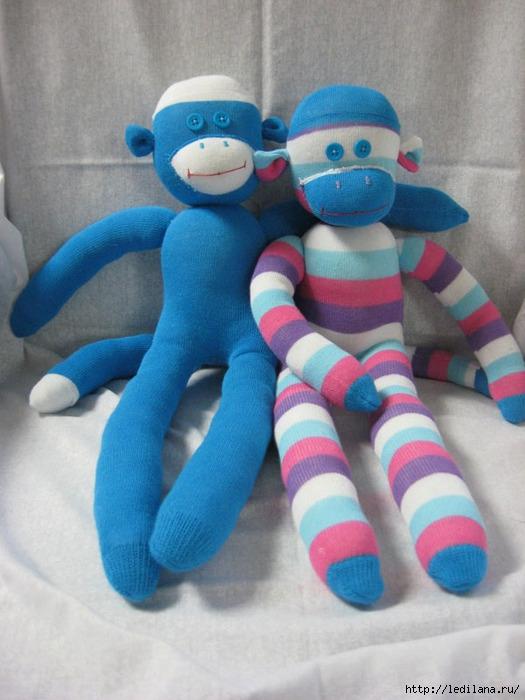 Игрушка мягкая обезьяна своими руками