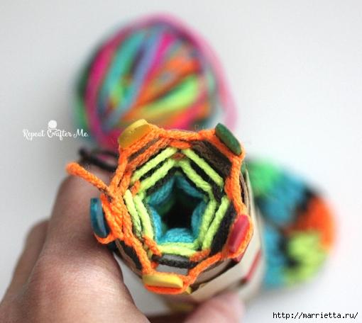 Устройство для плетения шнура своими руками (8) (510x456, 162Kb)