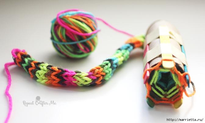 Устройство для плетения шнура своими руками (10) (672x405, 150Kb)
