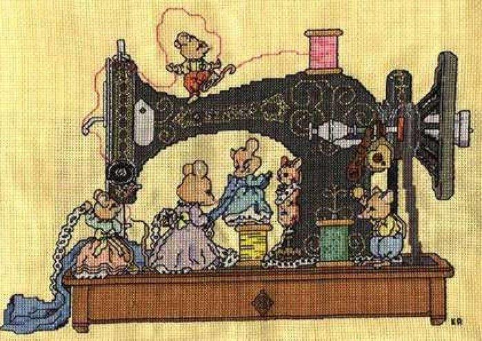 Швейная машинка вышивка рисунков 47