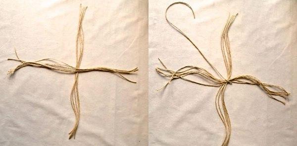 Корзины из веревок своими руками