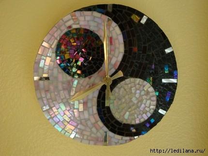 Мастер класс для дачи мозаика из дисков фото