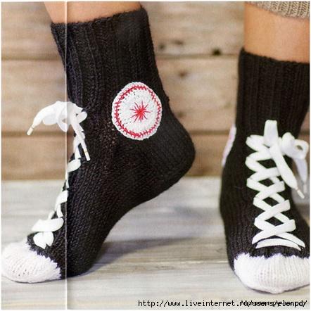 высокие носки это