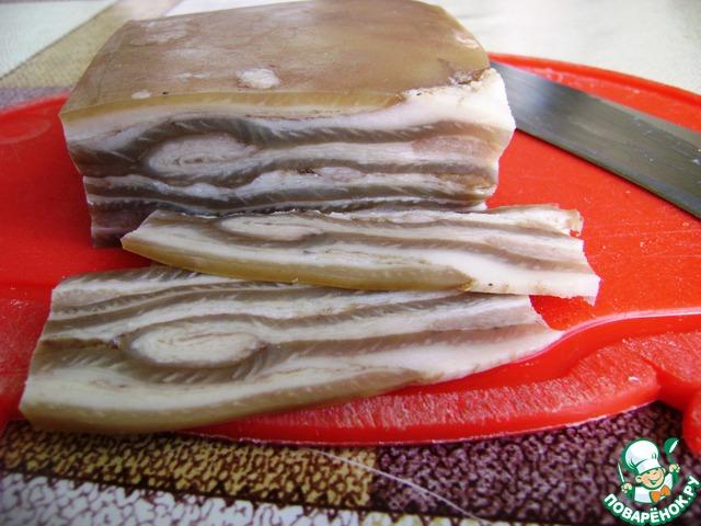 Свиная шкура рецепты с фото
