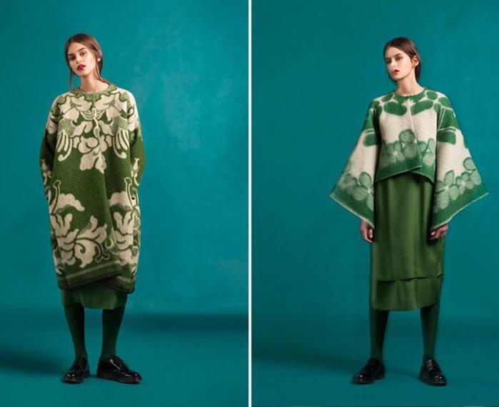 126583199 120315 2156 5 Эстонский дизайнер создаёт пальто из старых советских одеял