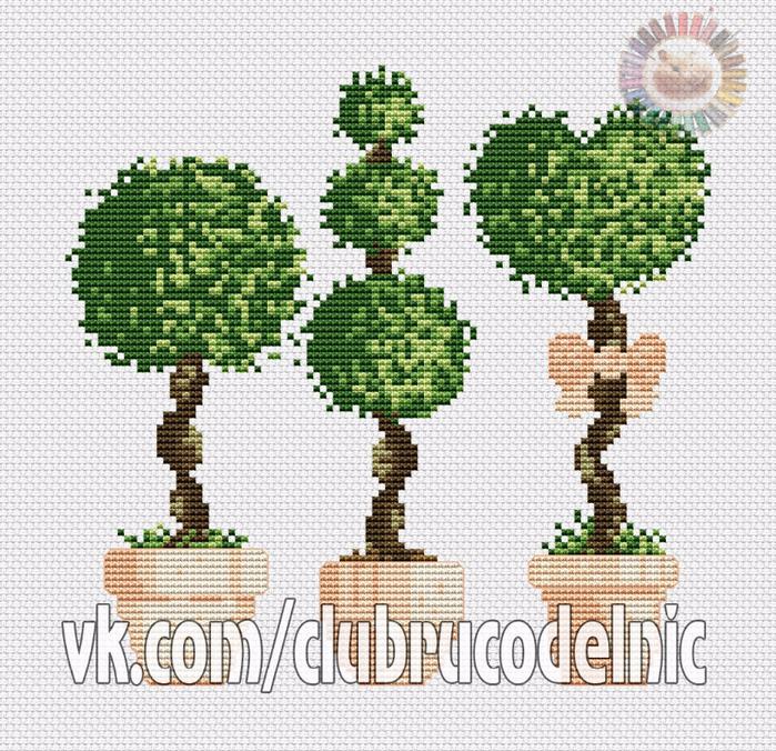 Деревья3 (700x676, 668Kb)