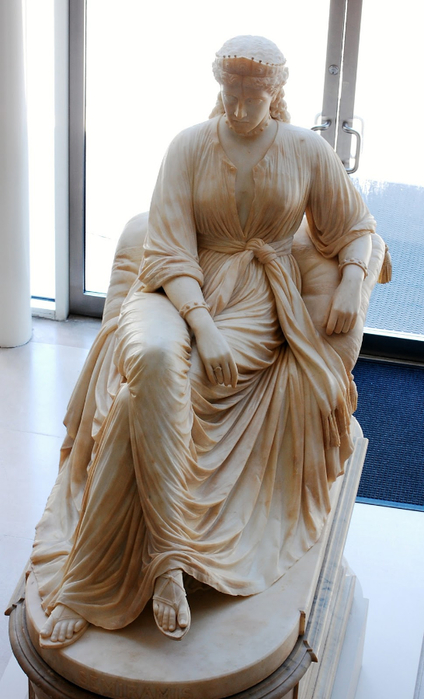 William Wetmore Story Semiramis, 1873 Tutt'Art@ (1) (424x700, 285Kb)