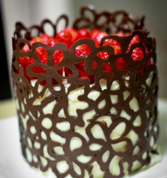 Шоколадное украшение