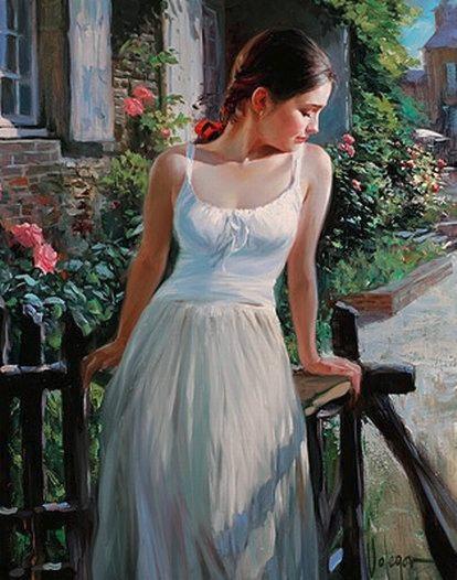 В ситцевом платье стих