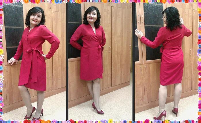 Красное платье (700x429, 275Kb)