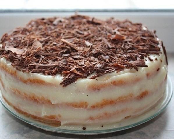 Творожный торт на сковороде (598x480, 74Kb)