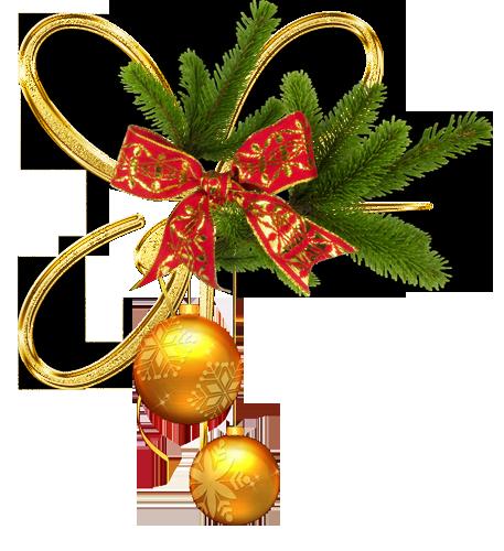 Уголки новогодние украшения