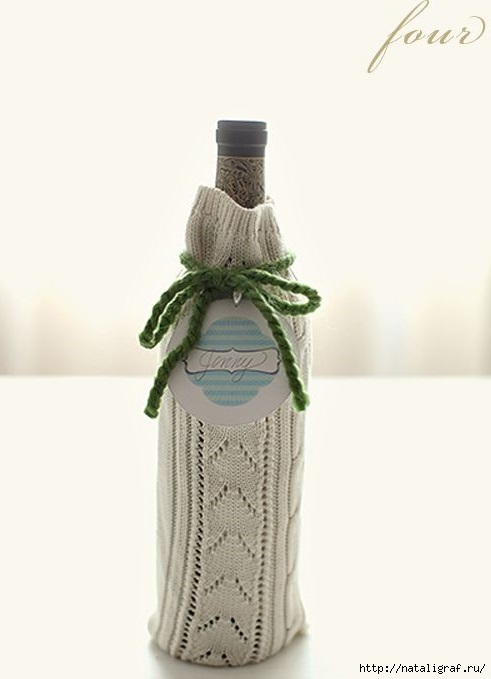 Упаковка бутылок своими руками фото