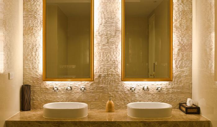 halo-lighted-bathroom-mirrors (700x409, 300Kb)