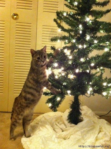 новогодняя елка (451x604, 205Kb)
